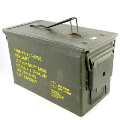Caisse à munitions Cal. 50 ou 5.56 (occasion)