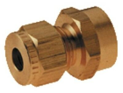 Wade Brass Compression Fitting – Metric BSPP Female Coupling