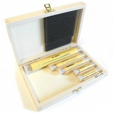 Bergeon 30046 Set Of 60 Cutting Broaches Wooden Box Ø0.05mm - Ø2.75mm - HB30046