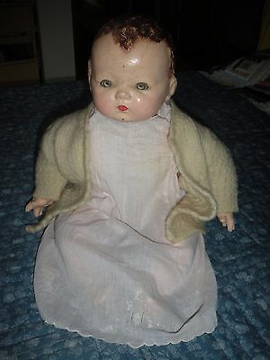 Pinky Pinkie Madame Alexander Composition baby doll 19 inches1930s