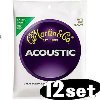 MARTIN M 170 Bronze Extra Light - CORDE PER CHITARRA ACUSTICA EXTRA LIGHT 010-47