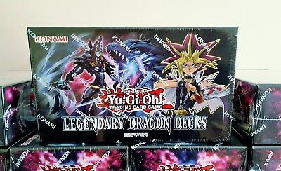 YuGiOh Legendary Dragon Decks - Dragon/Cyber/Odd-Eyes - Brand New & Sealed