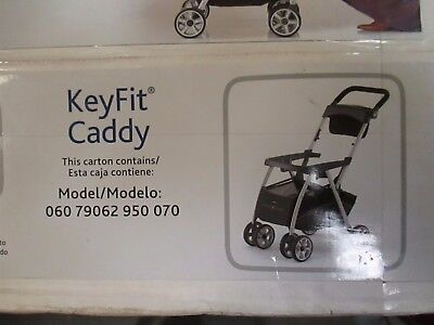 Chicco Keyfit Caddy Lightweight Aluminum Infant Car Seat Carrier