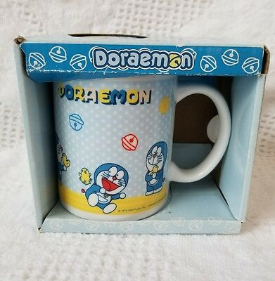 New In Box Doraemon Mug With Lid