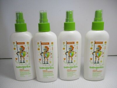 4 Babyganics Natural Insect Repellant 6 Oz Ea Each Exp: 1/19+ Jl 6030