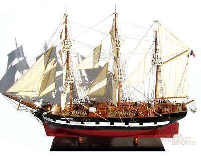 """Jeanie Johnston 37"""" Handcrafted Ship Model"""