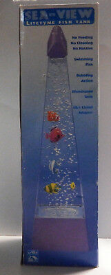 Rare Vintage Sea View Litetyme Fish Tank by Alco - New In Box