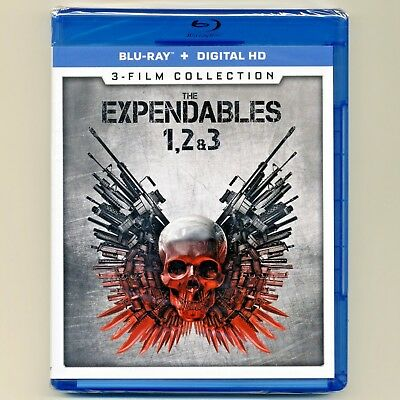 Expendables: 3-movie Collection, new Blu-ray, Stallone, Willis, Schwarzenegger