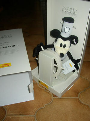 original Steiff Steamboat Willie neu in Originalkarton