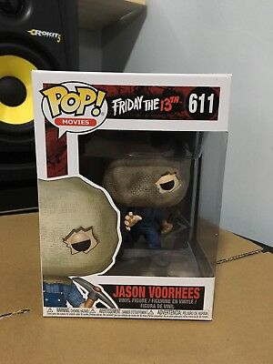 Friday The 13th Part 2 Jason Voorhees Bag Exclusive Funko Pop Vinyl IN STOCK