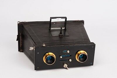 Stereo plate camera for 6x13cmunknown manufacturer