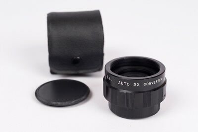R.A. Auto 2X converter for M-42 mount