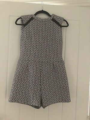 River Island Ladies Jumpsuit With Checked Pattern Size 10