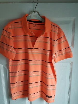 Gap Kids Boys Orange Polo Shirt Age 12 Years Size XL. Excellent condition