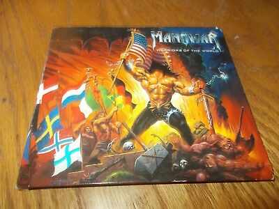 Manover - Warriors Of The World Cd