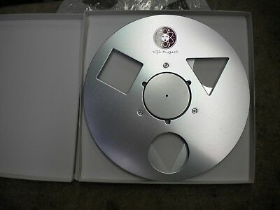 "Used Tape Project NAB 10.5"" inch Metal Reel for 1/4"" tape"