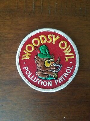 Woodsy Owl Red Pollution Patrol