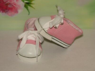 Shoes To Fit The American Galoob Baby Face Girl  Pink Tennis