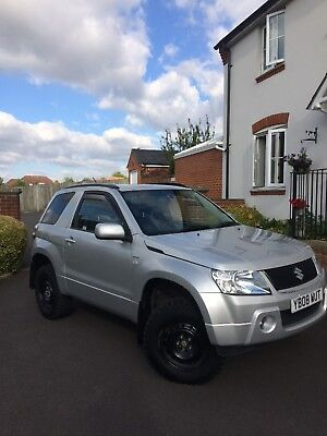 SUZUKI GRAND VITARA 2008 with off road modifications and low mileage