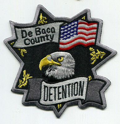 De Baca County New Mexico Detention Patch // FREE US SHIPPING!