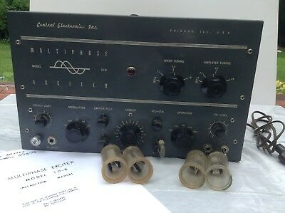 Central Electronics Inc. Model 10 B  Exciter