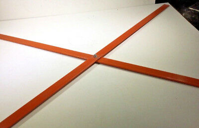 48 Inch Replacement Crossbars For Roll Up Signs 4 Sets