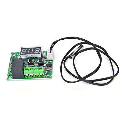 DC 12V Digital LED Thermostat Temperature Control Switch Module XH-W1209 New JY
