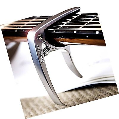 Adagio PRO DELUXE CAPO Suitable For Acoustic & Electric Guitars With Quick Re...