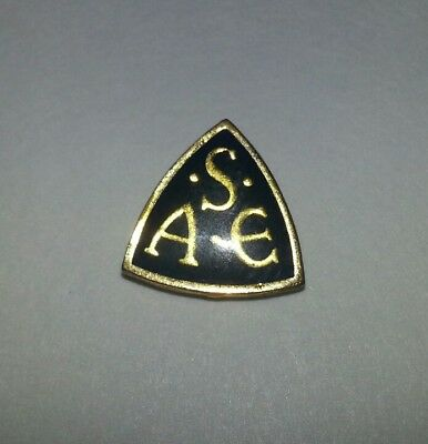 Vintage SAE Society of Automotive Engineers Member Lapel Pin.