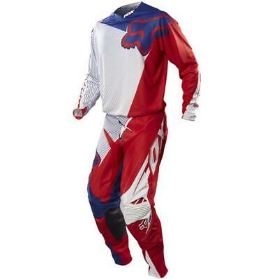Fox Racing Adult 360 MXoN Flight Off Road MX Gear Set Red White Blue XLarge / 36