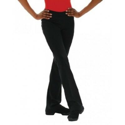 NEW Black Jazz Dance Pant Girls & Women Sizes Capezio TB118