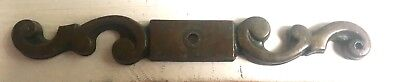 """Antique Brass VINTAGE AMEROCK ESCUTCHEON French Country BACKPLATE 5 1/4 X 5/8"""""""