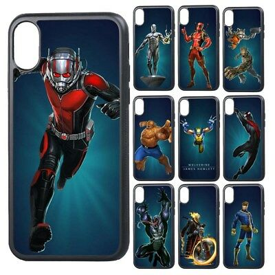 Marvel Superhero Spider-Man X-Men Phone Case Cover for iPhone XR XS 11 Pro Max
