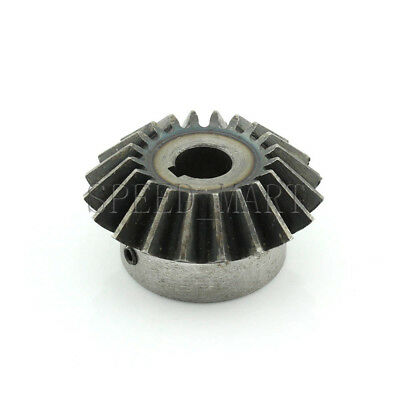 3M20T Metal Umbrella Tooth Bevel Gear Helical Motor Gear 20 Tooth 19mm Bore