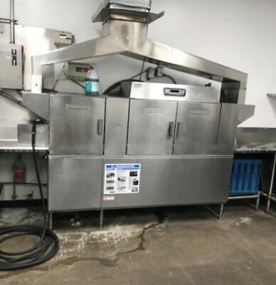 Hobart dishwasher CLPS86E build up table  industrial high capacity CLE Series