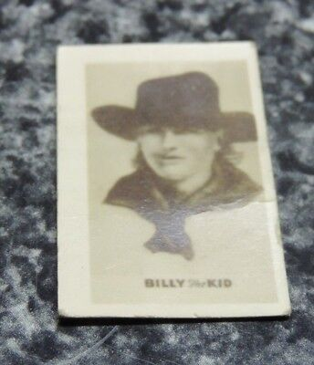1948 Topps Magic Photo Hocus Focus Card Wild West Billy the Kid Picture 7 of 7-S