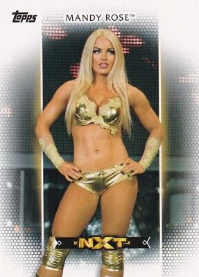 2017 Topps WWE Women's Division, Roster Card # R-8 Mandy Rose