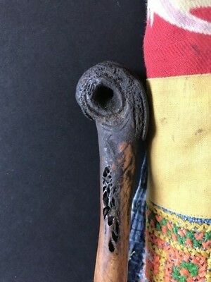 Old Papua New Guinea Abalem Carved Cassowary Dagger …beautiful collection