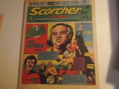 1973 Scorcher And Score Comic Dundee United And Torquay Grammar School Football