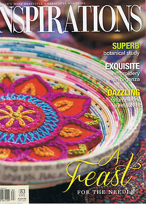 INSPIRATIONS MAGAZINE issue 83 pattern attached