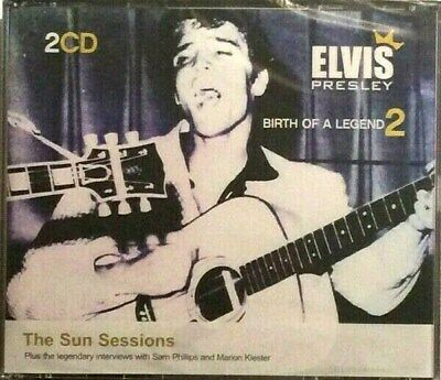 Elvis Presley Birth of a Legend 2 CD The Sun Sessions New