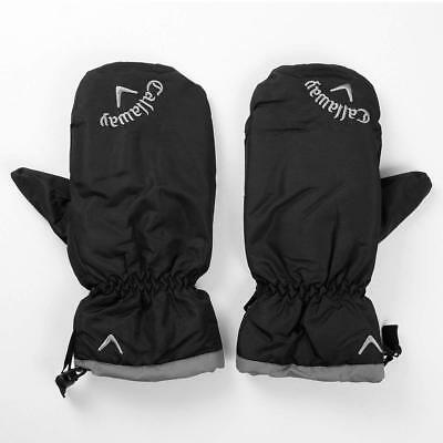 GOLF MITTENS - Callaway Golf Thermal Mitts - Black - One Size - Winter Gloves
