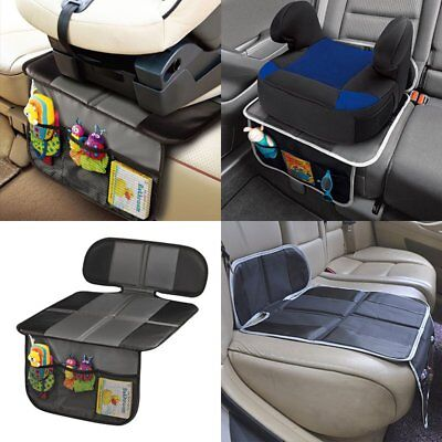 Baby Car Vehicle Seat Protector Mat Covers Under Child Seat Leather Saver Cover