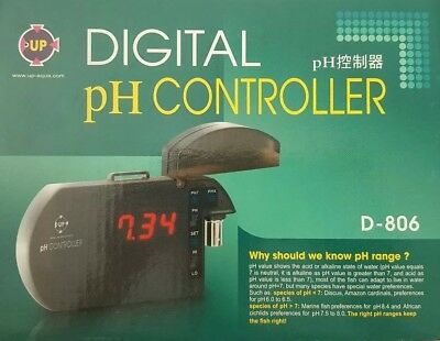 Digital pH Controller (monitor for Planted Tanks, Aquariums & Aquascape) UP-AQUA