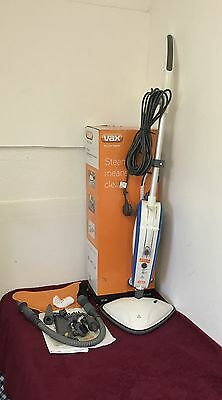 Vax S7-Av Upright And Handheld Steam Cleaner With All Accessories
