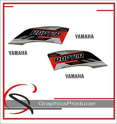 Yamaha Raptor 700R Replica Decals Blue Model 2009 Graphics Kit Stickers Set