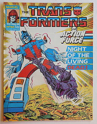 TRANSFORMERS COMIC #165 - 14th May 1988 - Marvel UK, Action Force