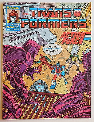 TRANSFORMERS COMIC #164 - 7th May 1988 - Marvel UK, Action Force