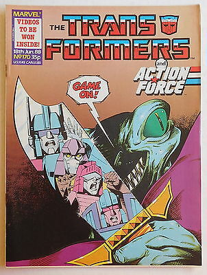 TRANSFORMERS COMIC #170 - 18th June 1988 - Marvel UK, Action Force