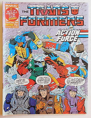 TRANSFORMERS COMIC #198 - 31st December 1988 - Marvel UK, Action Force